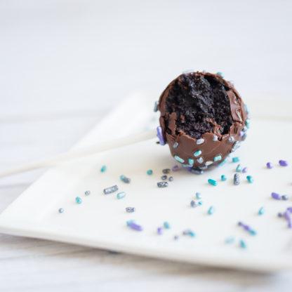 Vegan chocolate cakepops