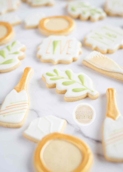 engagement sugar cookies