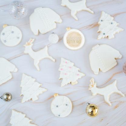 Gluten free christmas sugar cookies