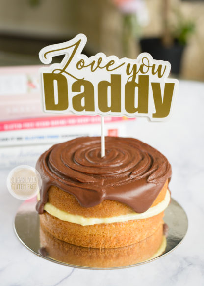 Gluten Free Boston Cake